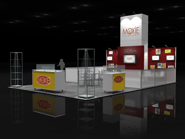 MOXI011 - 20x30 Trade Show Display Rental