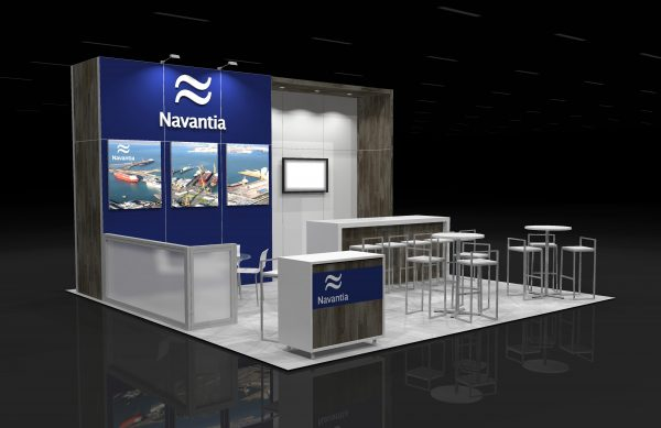 NAVA00A - 20x20 Exhibit Booth Rental