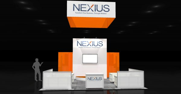 NEXI0005 - 20x30 Trade Show Display Rental