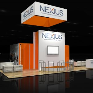 NEXI003 - 20x30 Trade Show Exhibit Rental