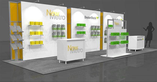 NMHT003 - 10x30 Trade Show Booth Rental