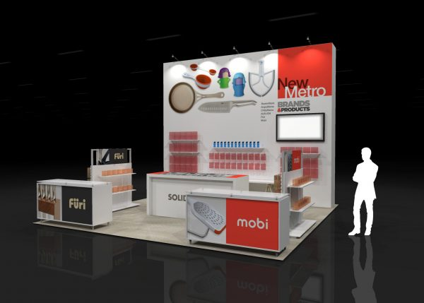 NMHT006 - 20x20 Trade Show Display Rental