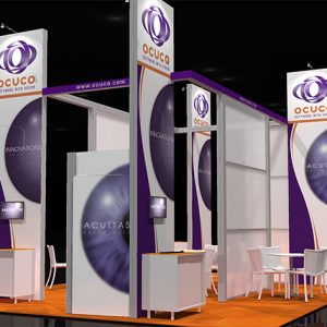 OCUC003 - 20x30 Trade Show Display Rental