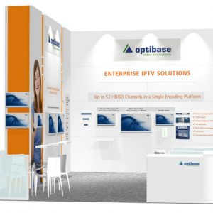 OPTI006 - 20x30 Trade Show Exhibit Rental