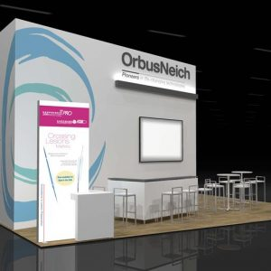 Orbus - 30x30 Two Story Exhibit Option 2