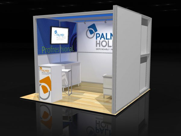 PALM002 - 10x10 Trade Show Display Rental