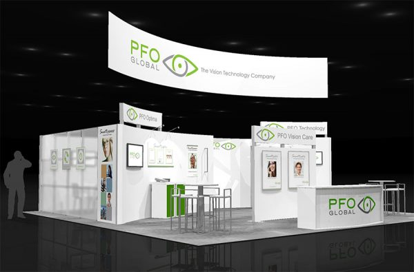PFOG003 - 30x30 Trade Show Exhibit Rental