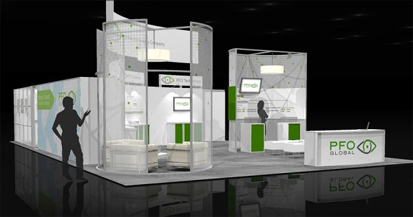 PFOG004 - 30x50 Trade Show Exhibit Rental