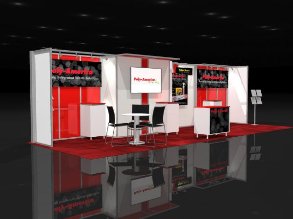 POLY001 - 10x30 Trade Show Display Rental