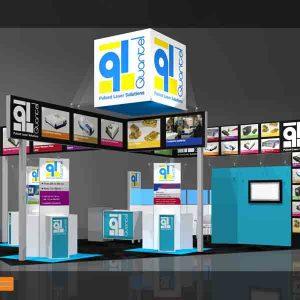 QUAN005 - 20x30 Trade Show Display Rental