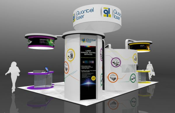 QUAN007 - 20x30 TRADE SHOW EXHIBIT RENTAL