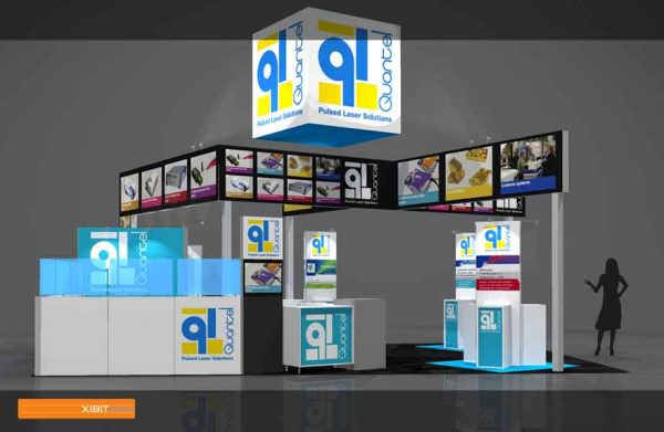 QUAN005 - 20x30 Trade Show Display Rental