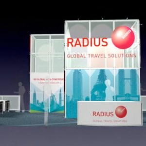 RADI001 - 20x50 Trade Show Booth Rental
