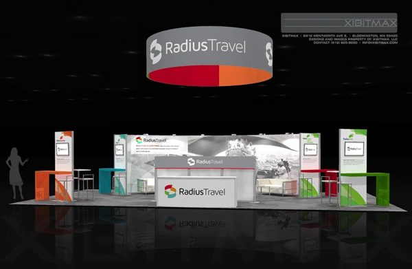 RADI004 - 20x40 Trade Show Display Rental