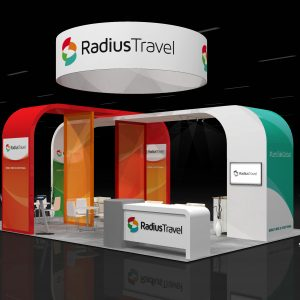 RADS005 - 20x30 TRADE SHOW RENTAL BOOTH