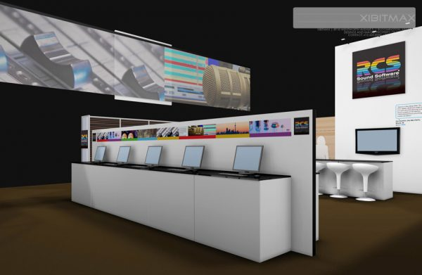 RCS001 - 50x50 Trade Show Booth Rental