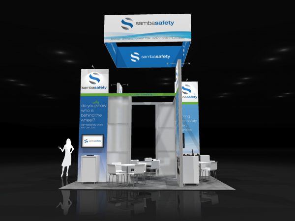 SAMB001 – 20×20 Trade Show Display Rental