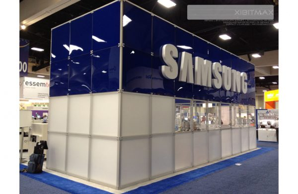 SAMS001 - 40x50 Trade Show Booth Rental
