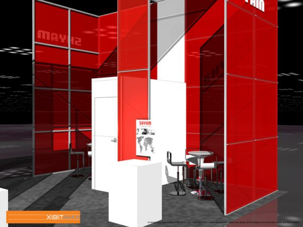 SHYM001 - 20x40 Trade Show Booth Rental