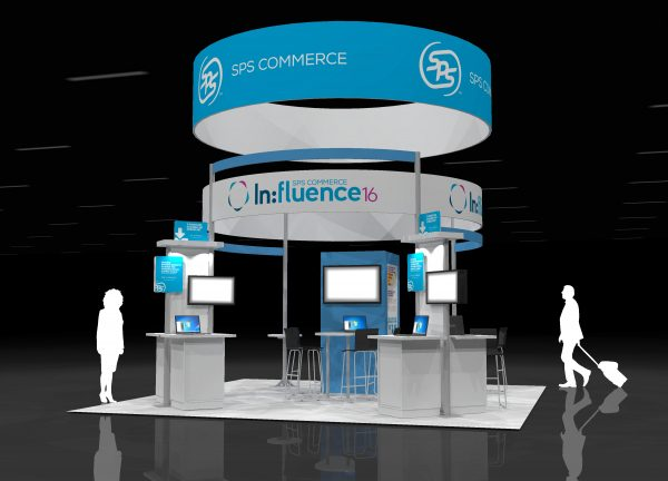 SPSC003 - 20x20 Exhibit Booth Rental