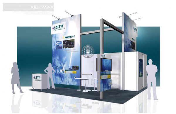 STRI001 20x20 Trade Show Display Rental
