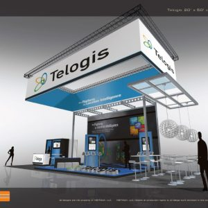 TELO001 - 20x50 Trade Show Display Rental