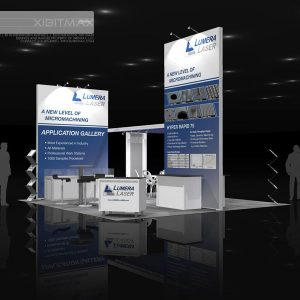 LUME002 - 20x20 Trade Show Exhibit Rental