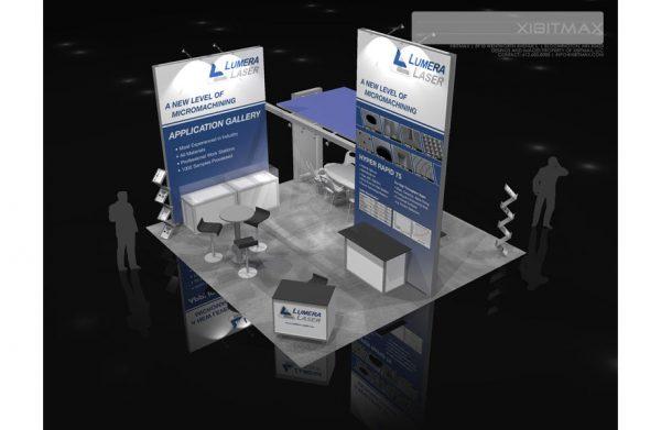 LUME002 - 20x20 Trade Show Exhibit Rental