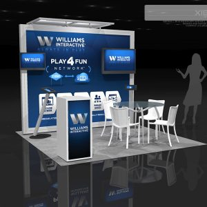 WMSG001 - 10x10 Trade Show Booth Rental