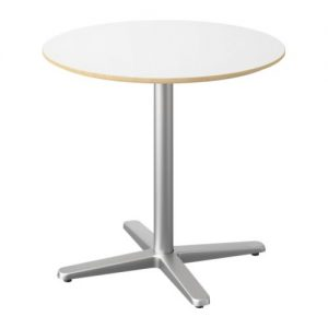 "Low Top Table - 28"" Round - White"