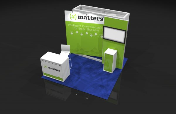 XMAT002 - 10x10 Trade Show Display Rental