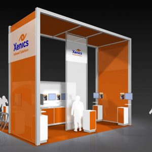 XENI 002 - 20 x 20 Trade Show Exhibit Rental