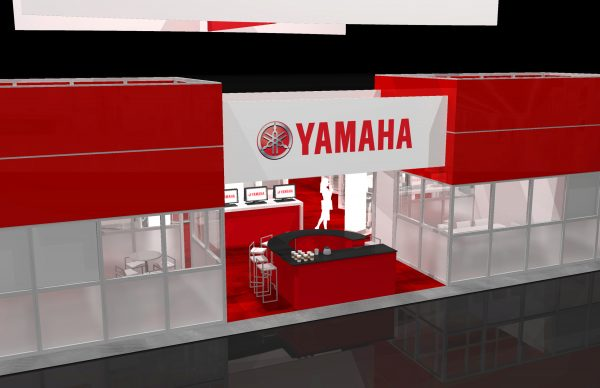 YAMA00A - 50x60 Trade Show Exhibit Rental